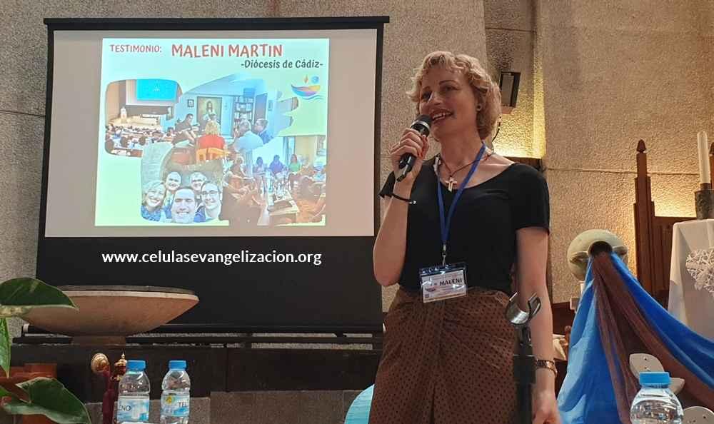 "Foto Maleni Martin: ""Solos nos rompemos"""