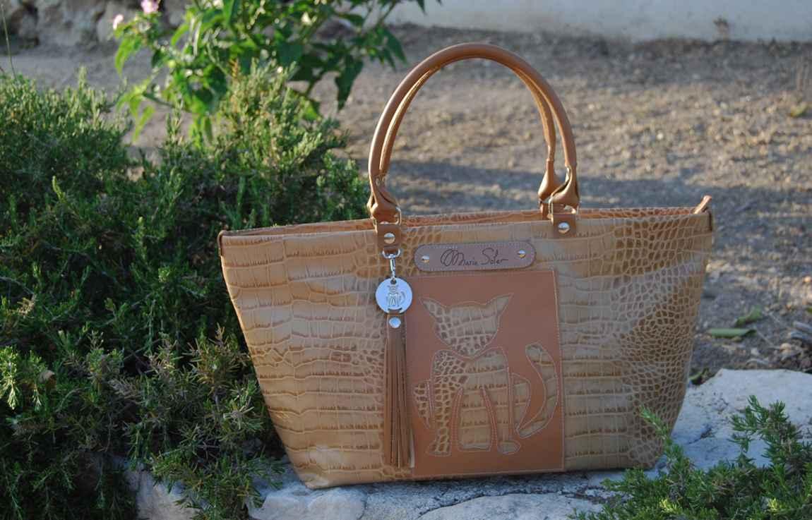 Picture LYDIA Bag, Bolso cuero reciblado
