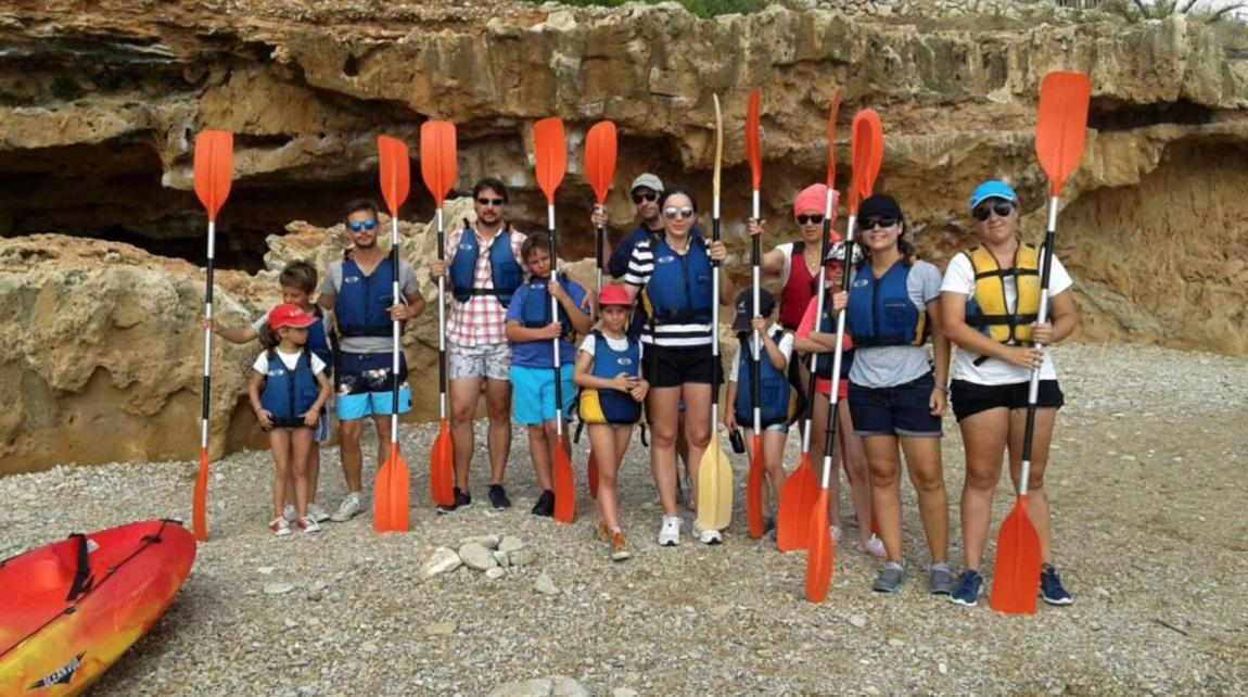 Disfruta del Kayak en familia (Denia, Jávea o Gandía)
