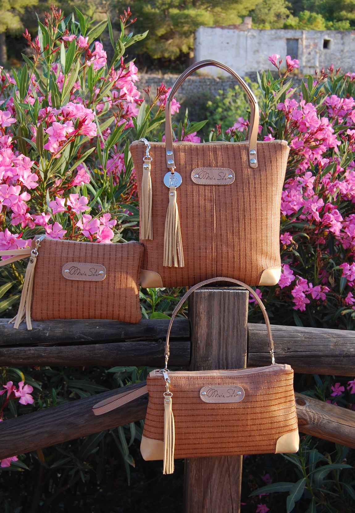 Picture ECO-RAFIA Bag, by Maria Soler