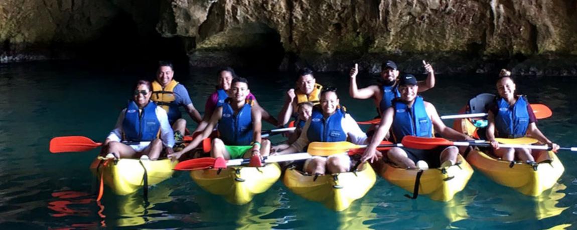Excursión en Kayak Cova Tallada