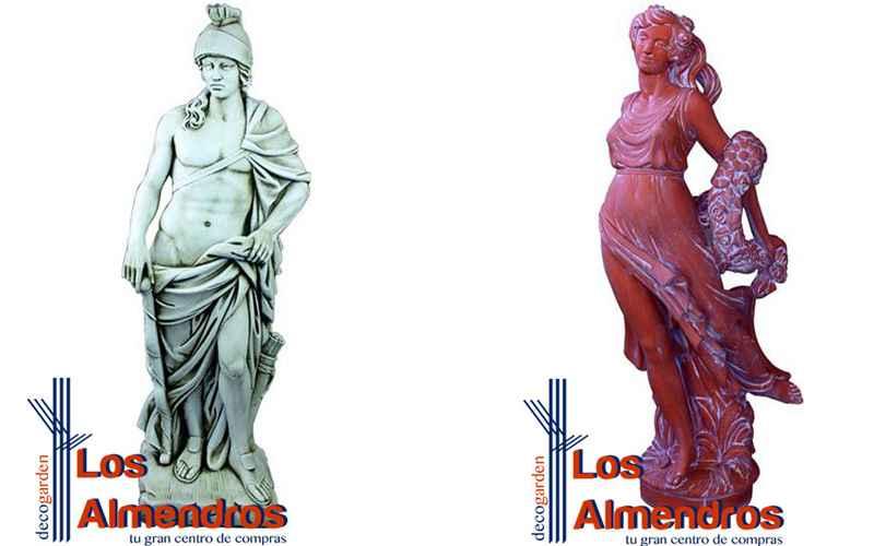 ¿Conoces el efecto de las estatuas romanas en el jardín? Te sorprenderás