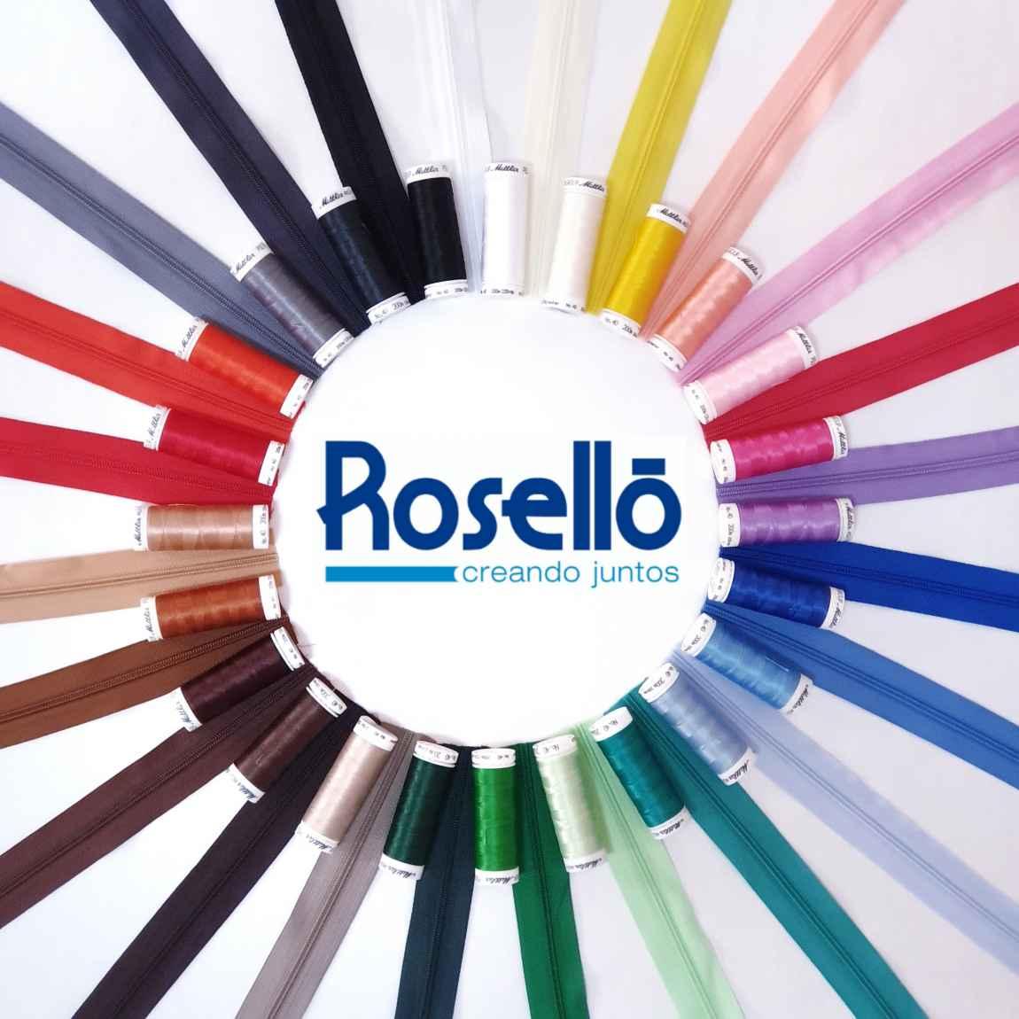 Cremalleras Rosello en rollo