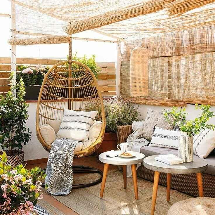 Foto Tips para que disfrutes tu terraza en la intimidad