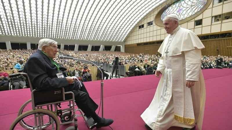 Foto Palabras del Santo Padre al SCPE