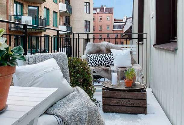 Foto Cómo mantener tu terreza cálida en invierno