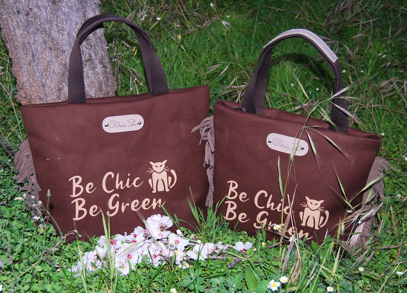 Picture BE CHIC BE GREEN, sustainable handbags