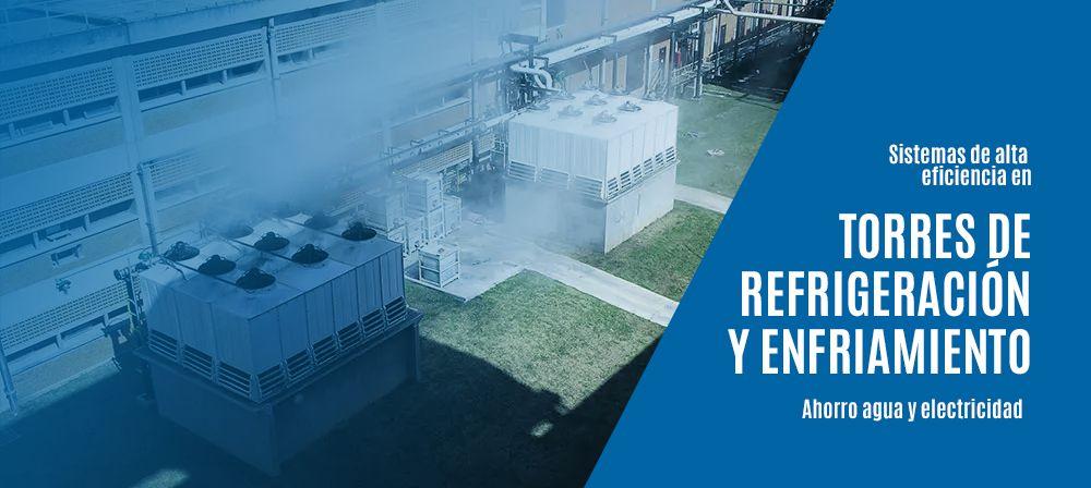 Soluciones WEG en torres de refrigeración para el ahorro de energía y agua