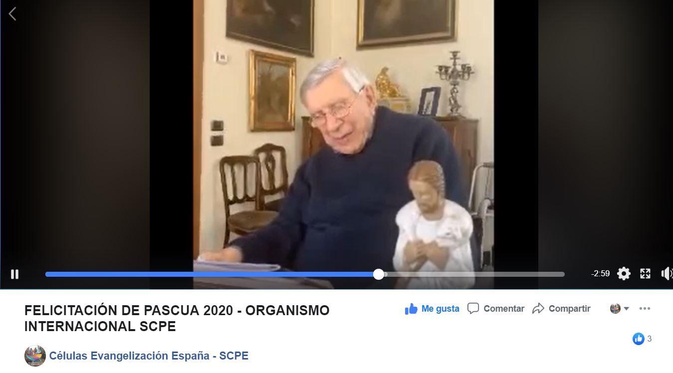 Felicitación Pascua 2020 - Organismo Internacional