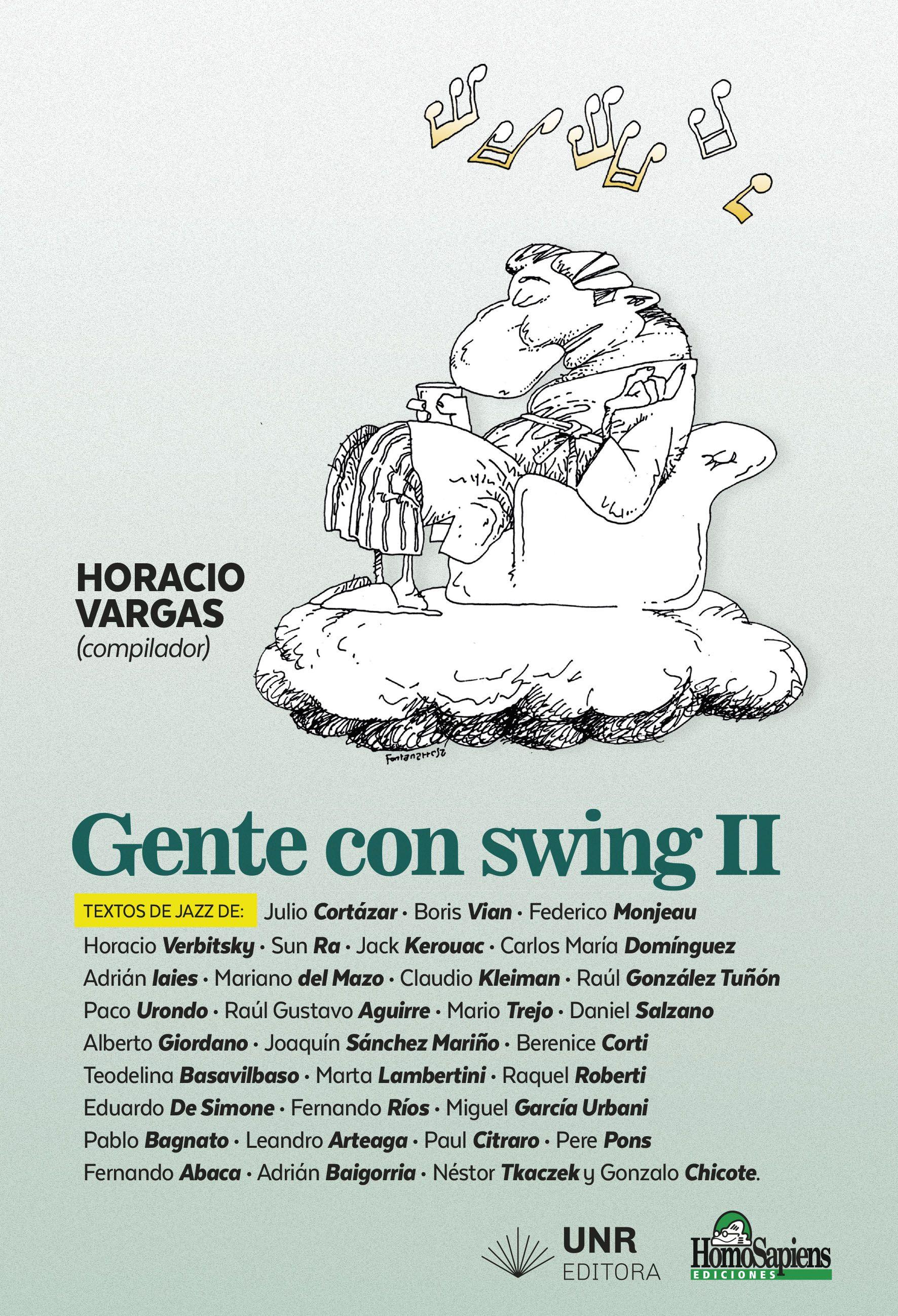 Foto Miguel García Urbani en el libro Gente con Swing II
