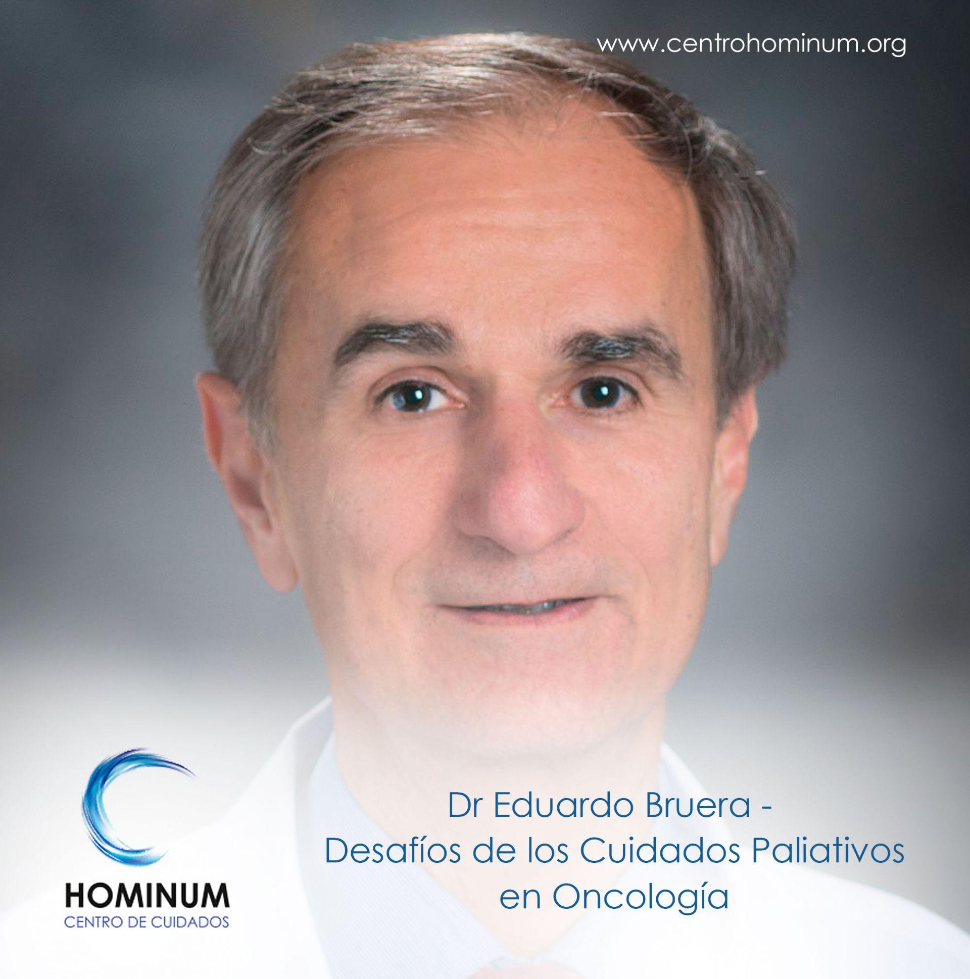 Foto Dr Eduardo Bruera - Desafíos de los Cuidados Paliativos en Oncología