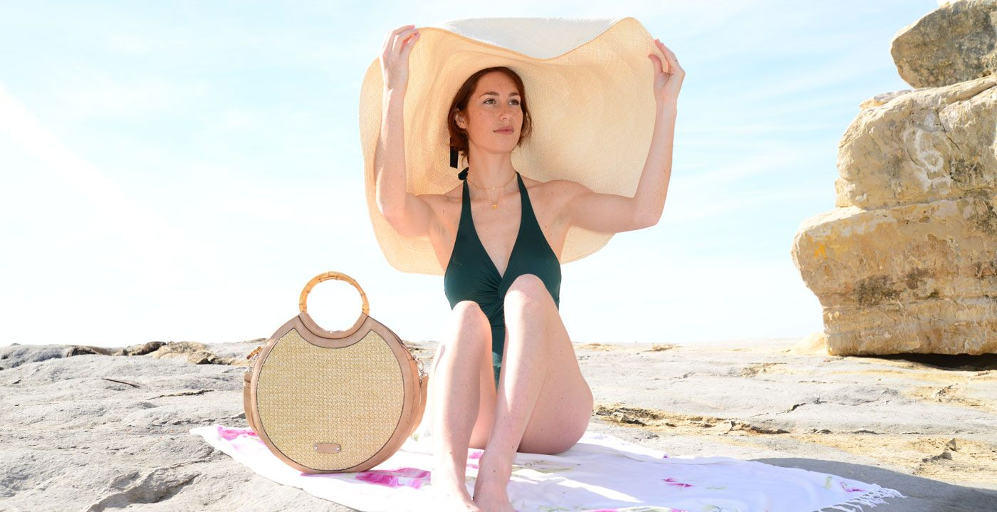 The raffia bag, a high trend for the summer of 2020