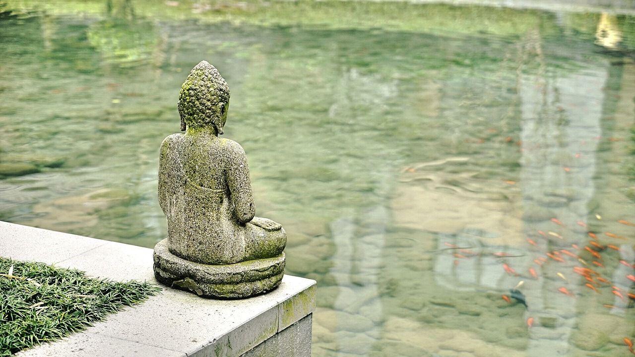 Foto Buda grande, los origenes del budismo