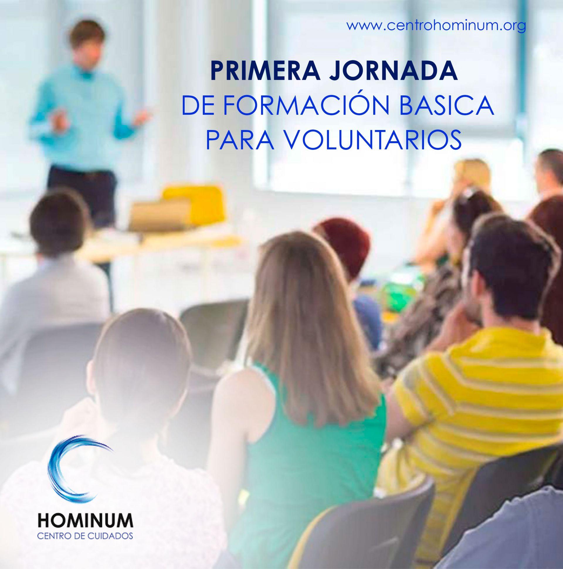 PRIMERA JORNADA DE FORMACIÓN BASICA PARA VOLUNTARIOS