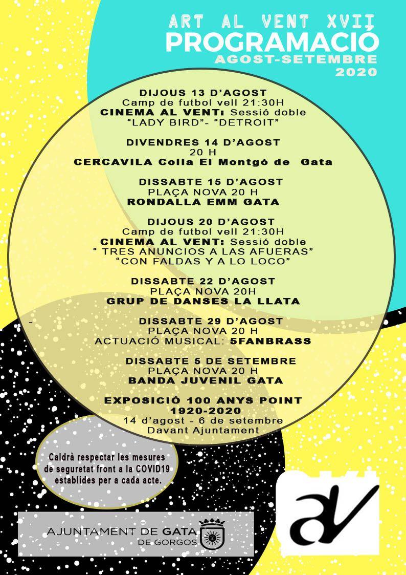 Cultural Events of Art al Vent XVII