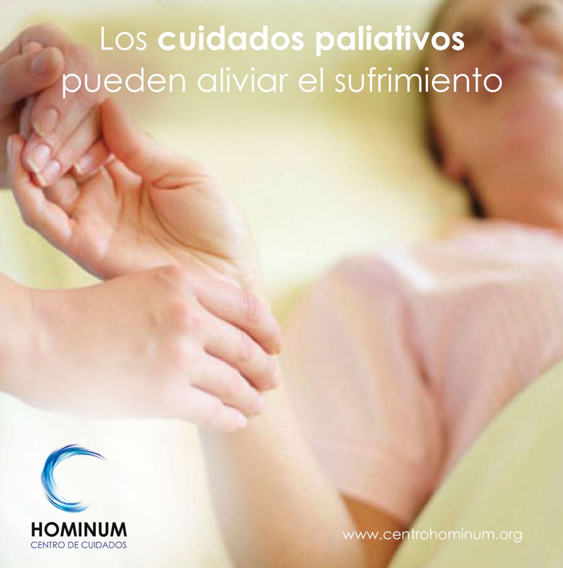 Los cuidados paliativos pueden aliviar el sufrimiento