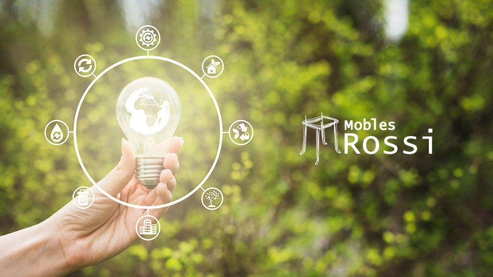 Ecus y Mobles Rossi con el mínimo impacto sobre el medio ambiente