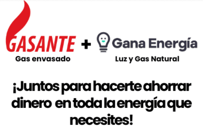 Gasante y Gana Energía juntos para hacerte ahorrar