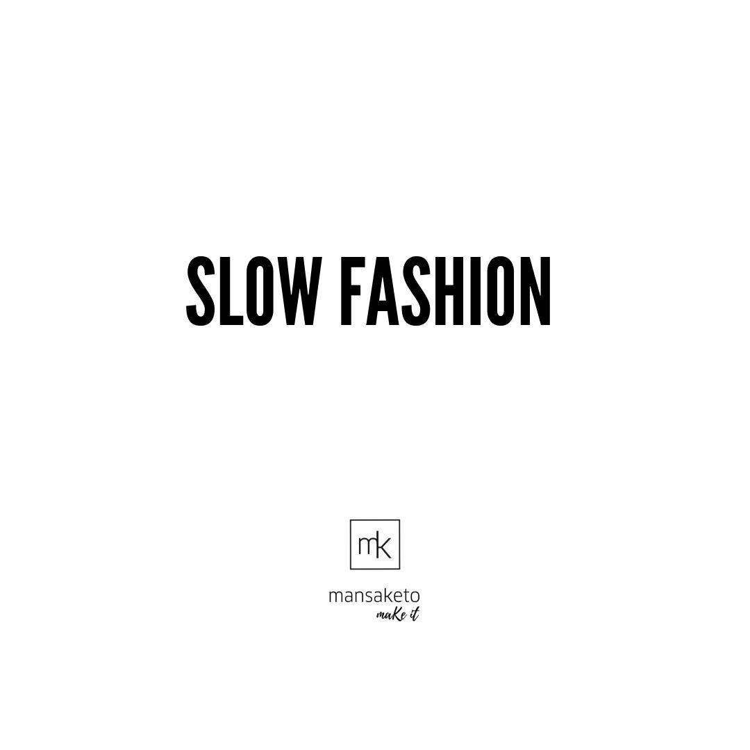 Picture Slow fashion vs fast fashion.