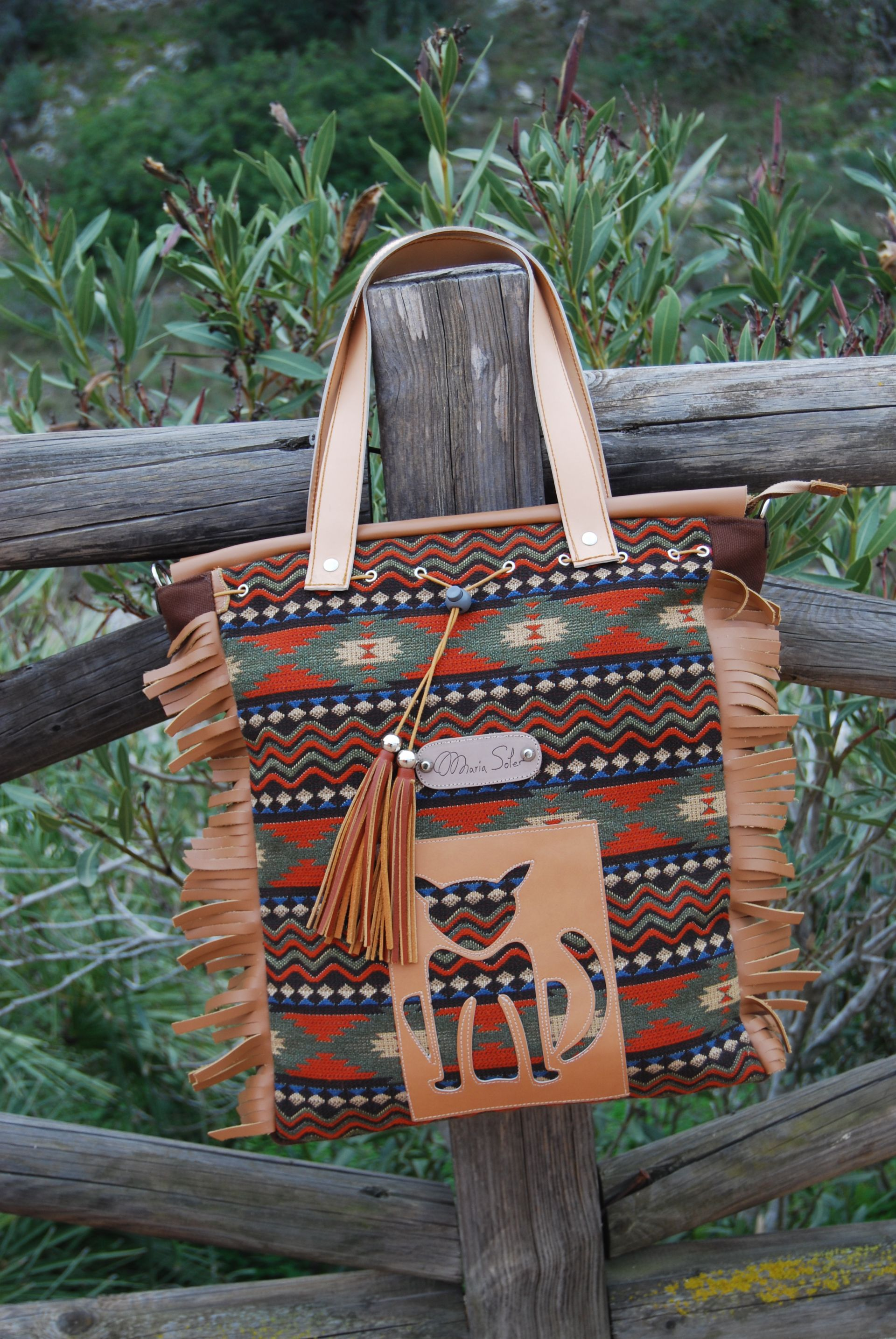 Picture CHEROKE bag, by MARIA SOLER