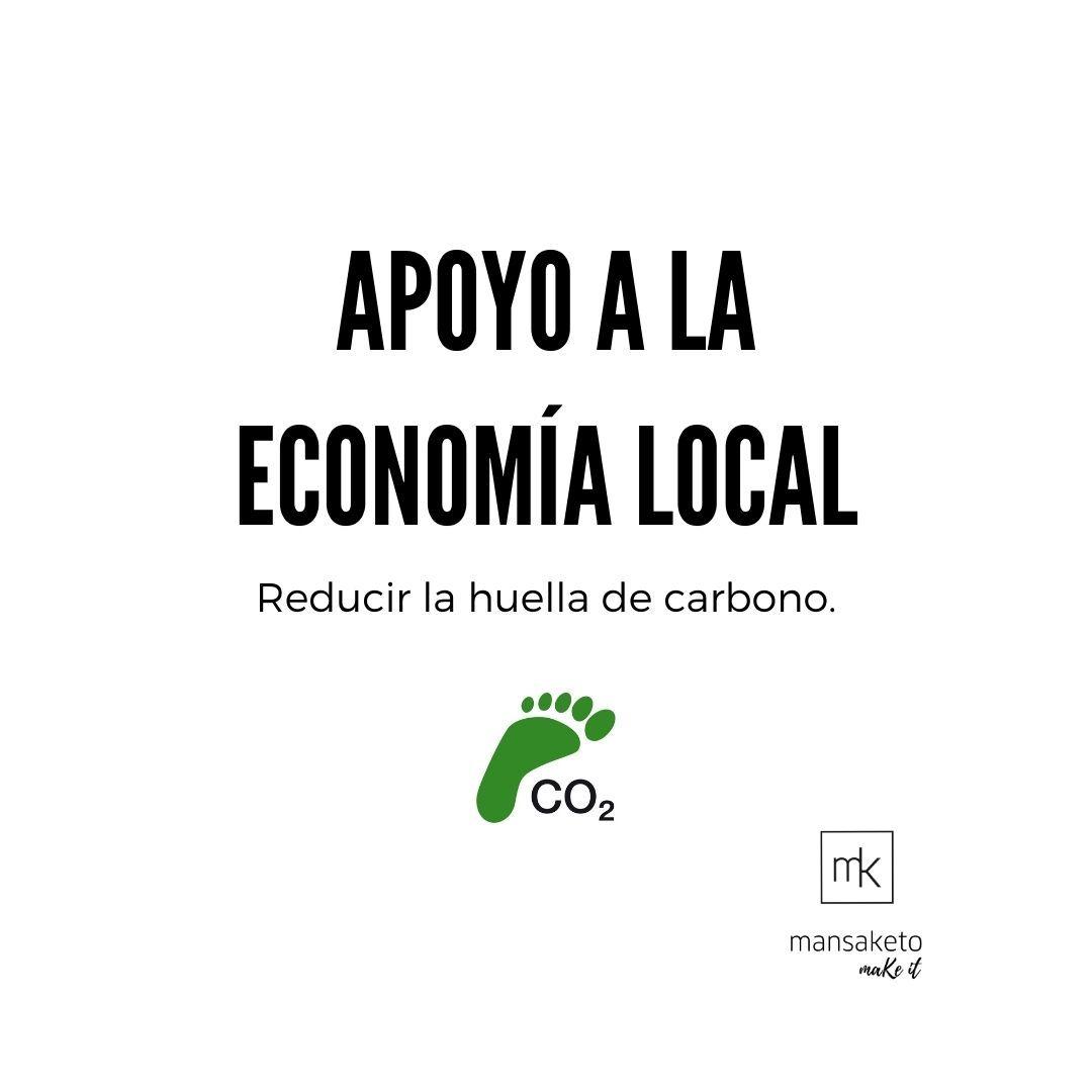 Picture Consume local y responsable para disminuir tu huella de carbono.