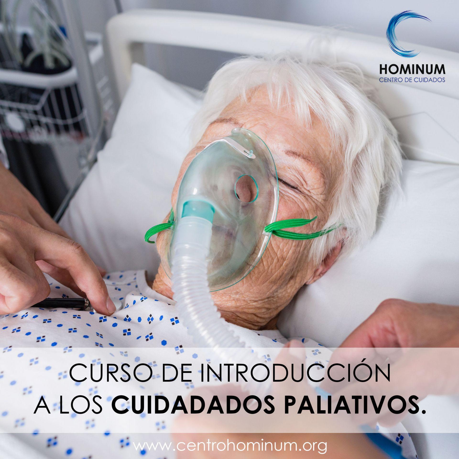 Foto CURSO DE INTRODUCCIÓN A LOS CUIDADADOS PALIATIVOS.