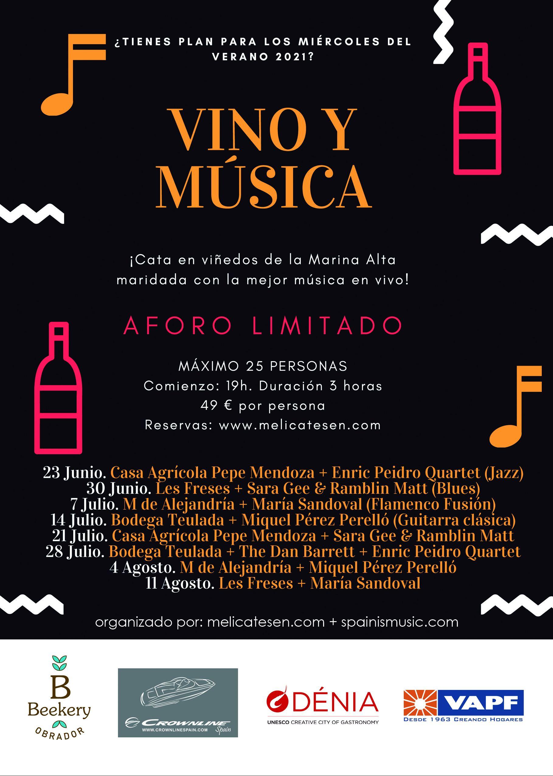 Picture Tardes de vino y música