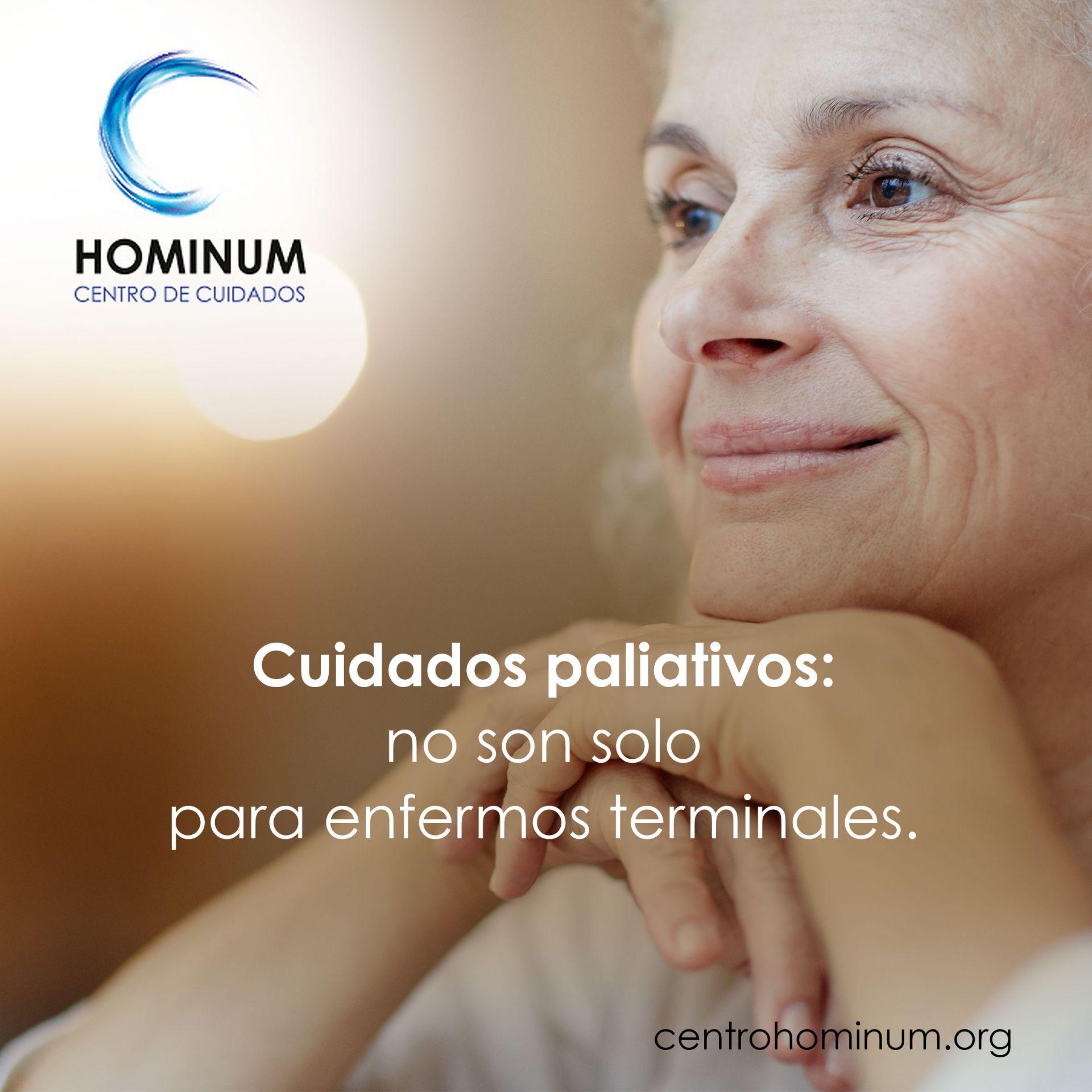 Cuidados paliativos: no son solo para enfermos terminales.