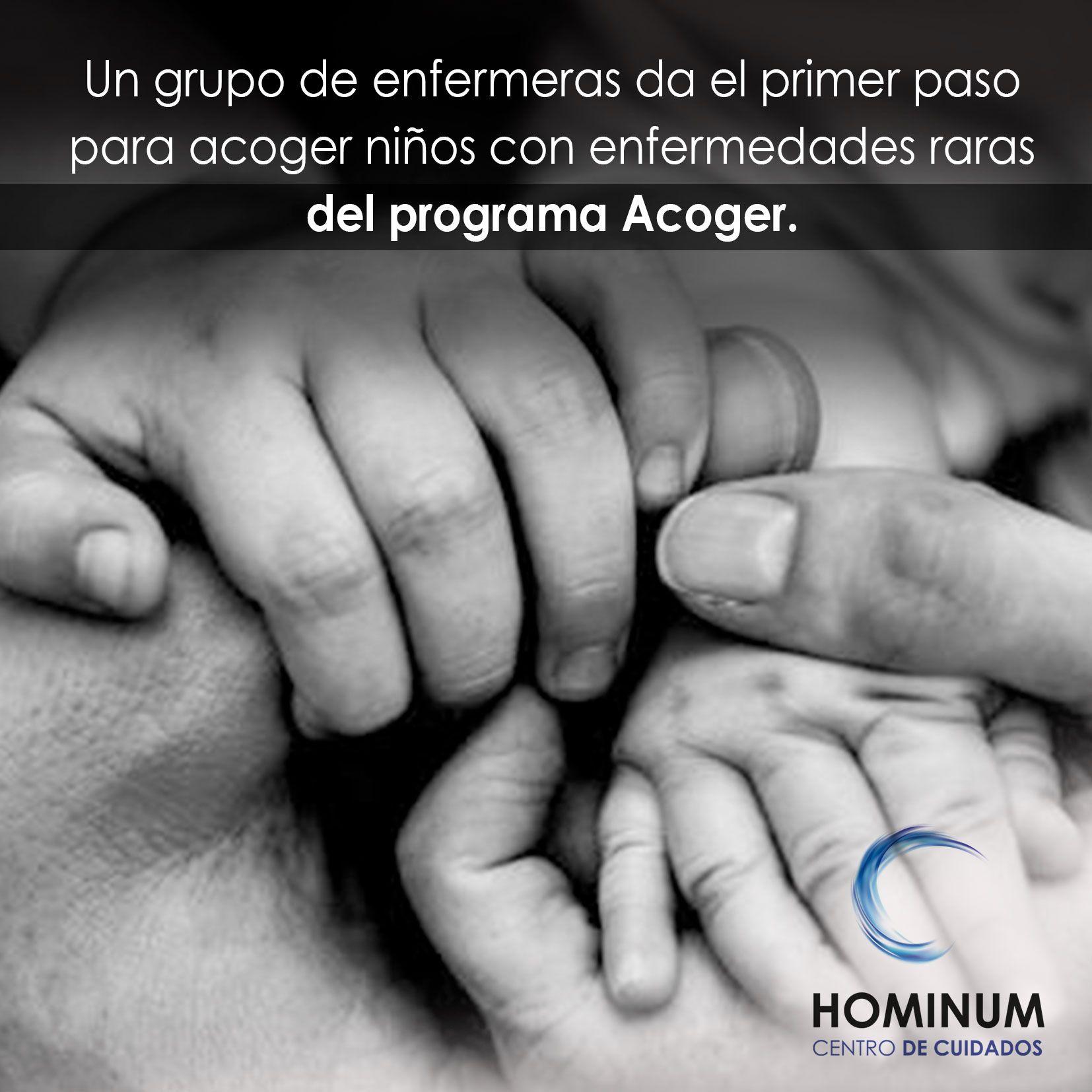 Un grupo de enfermeras da el primer paso para acoger niños con enfermedades raras del programa Acoger