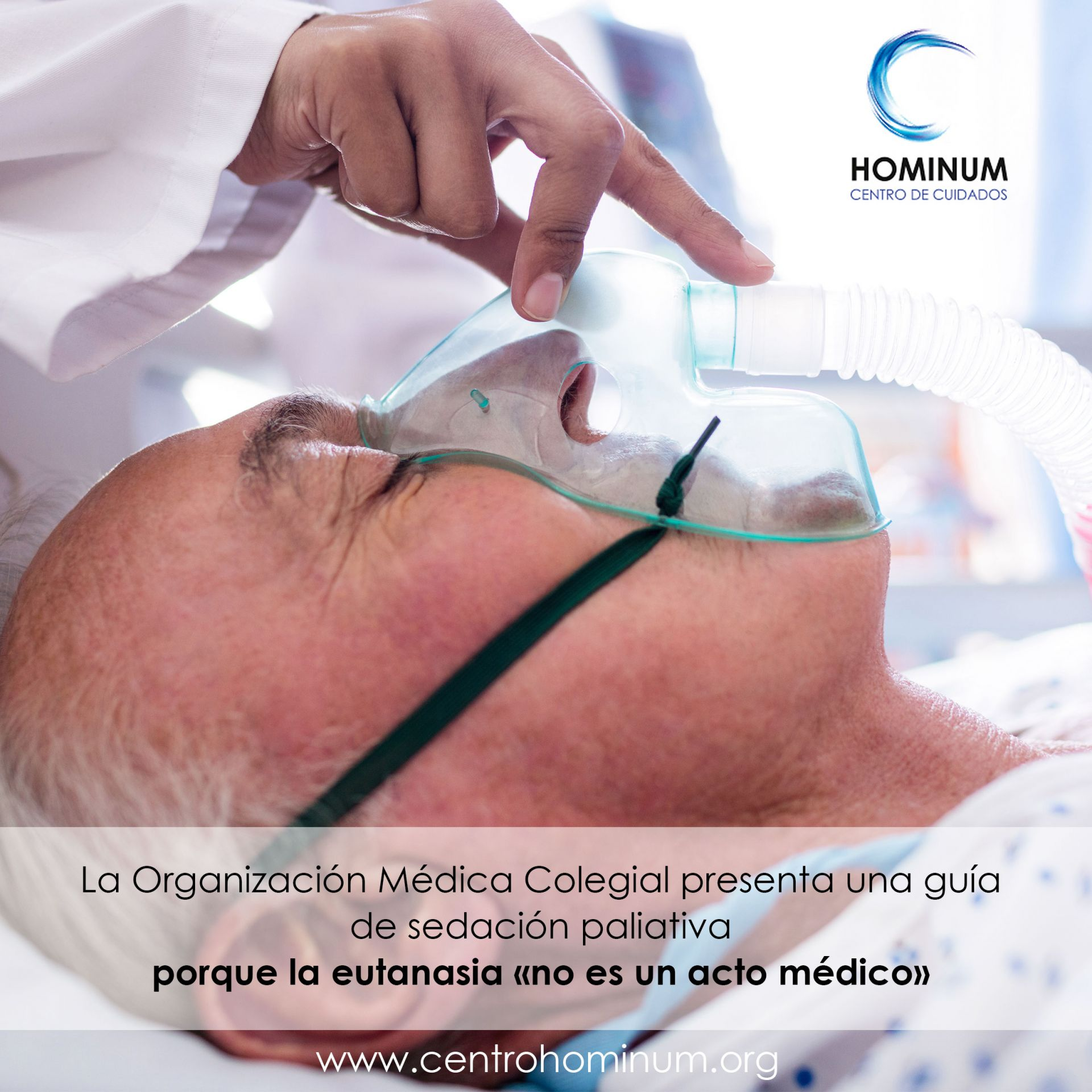 Foto Guía de sedación paliativa porque la eutanasia, no es un acto médico