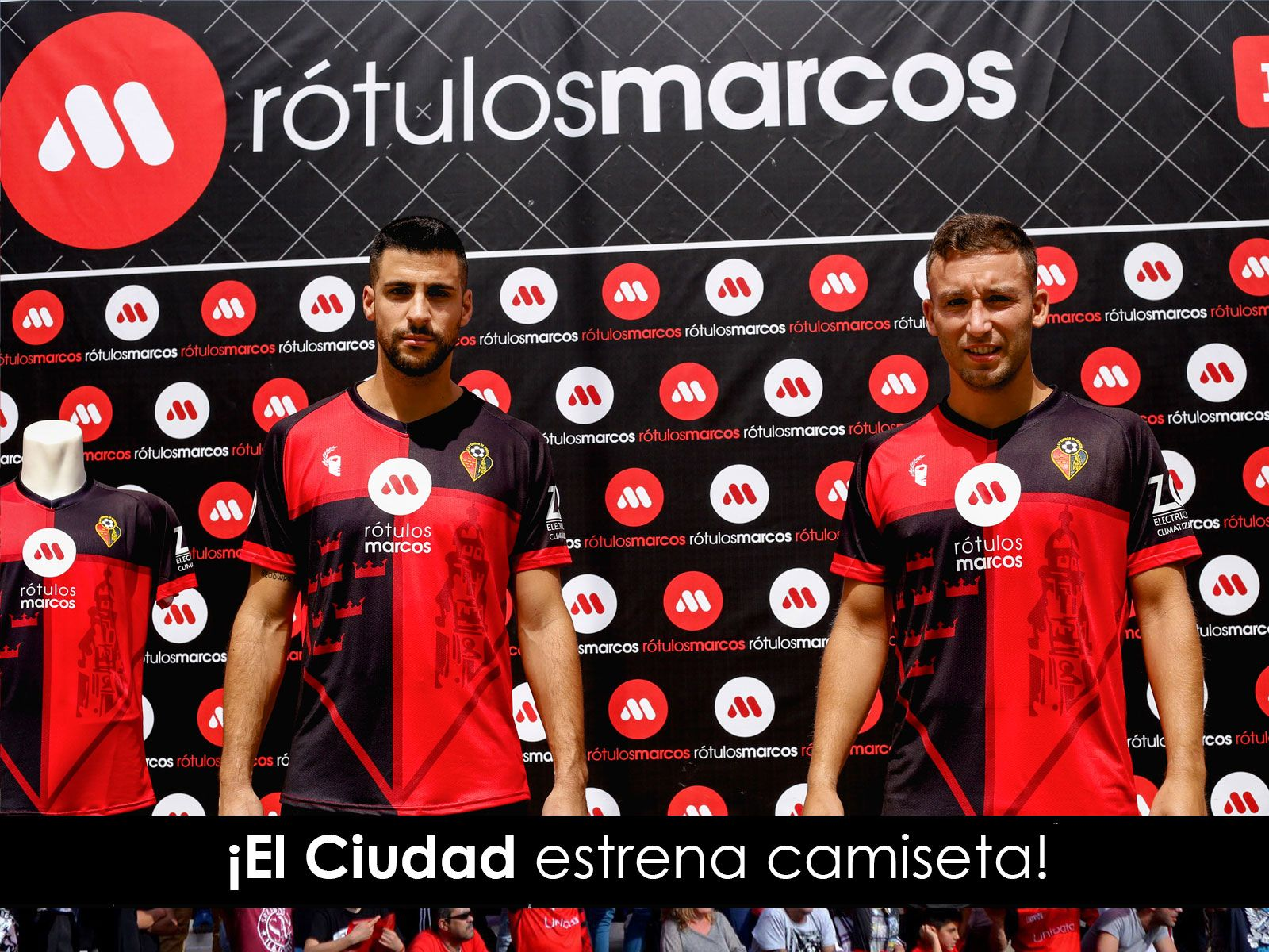 Foto El Ciudad estrena camiseta y 4 nuevos patrocinadores