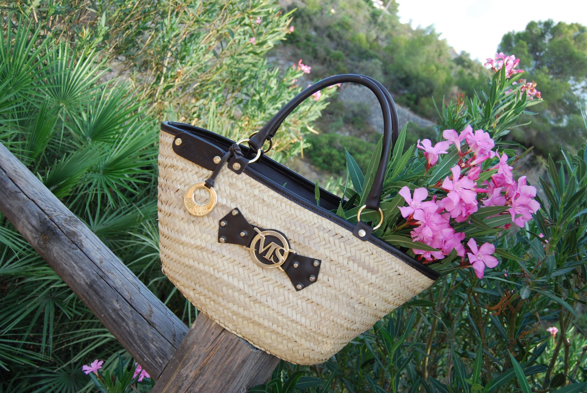 Picture BASKET-PALM Bag, by Maria Soler