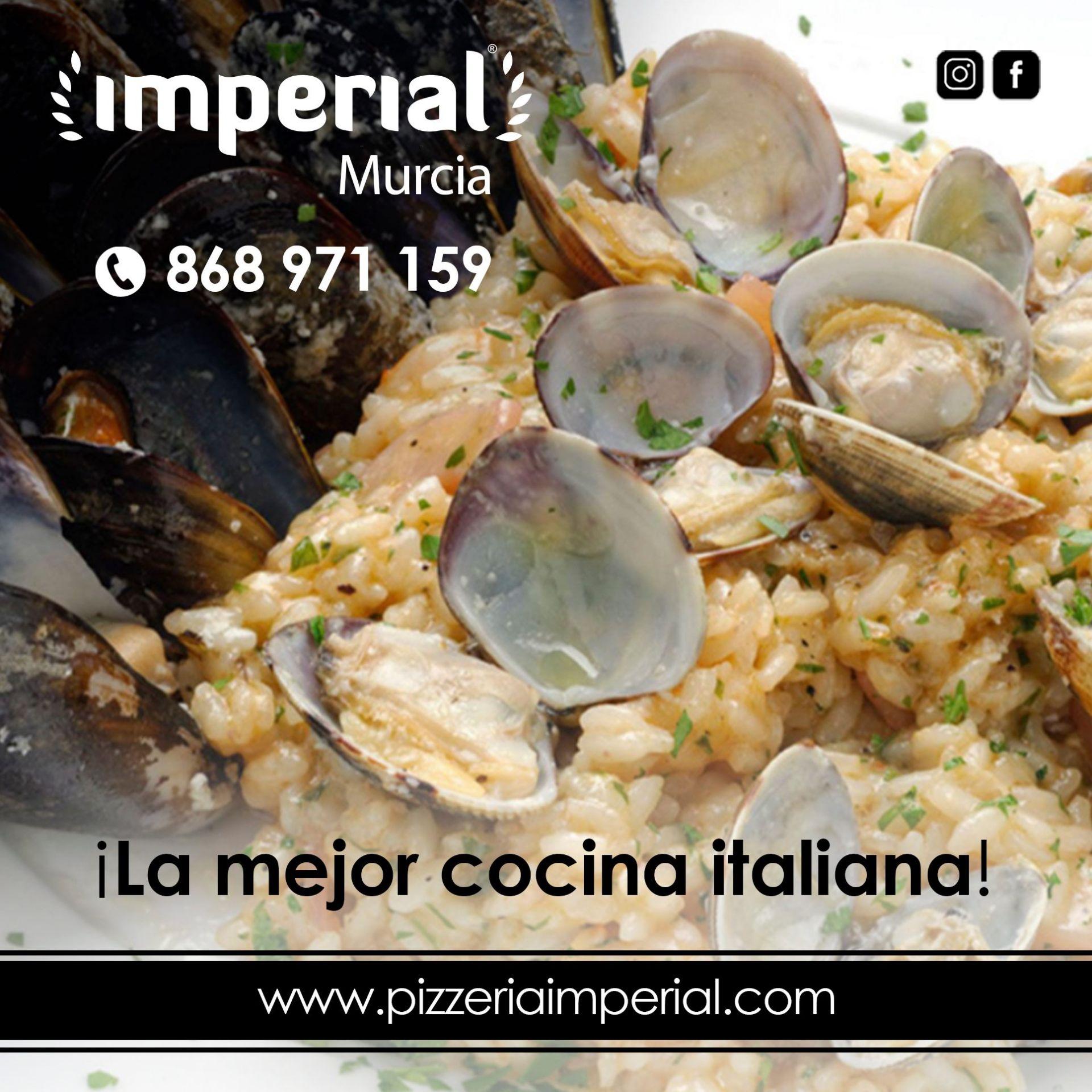 La mejor cocina italiana te espera en Imperial Murcia