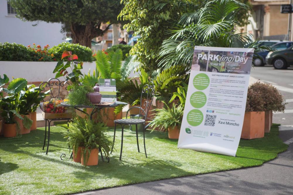 Monverd cedeix les plantes per a realitzar el primer park(ing) day de Ondara