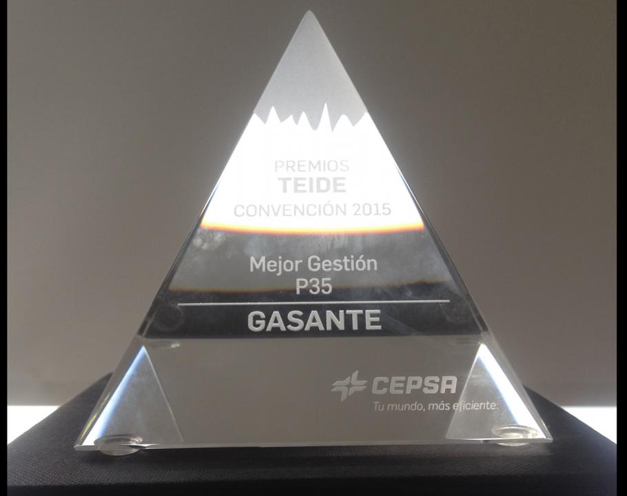 Premio Teide a la mejor gestión de P35
