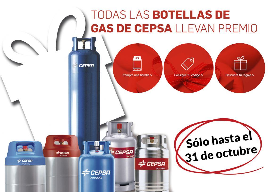 Foto Regalo seguro con cada botella Cepsa Gas
