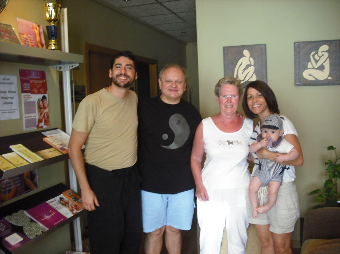 Visita de un gran paciente y amigo Joel Robuchon