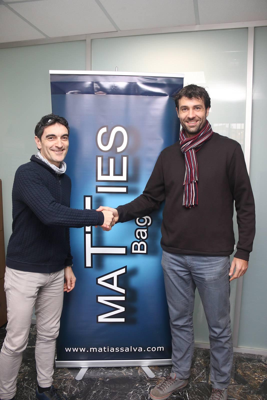 Foto Matties Bags patrocinador oficial del Circuit a Peu Marina Alta