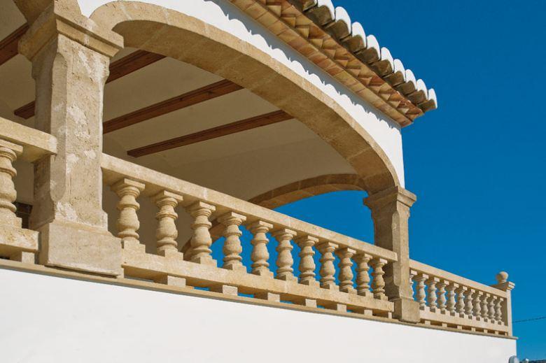 columnas para porches